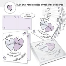 Perfect Love Wedding Invites